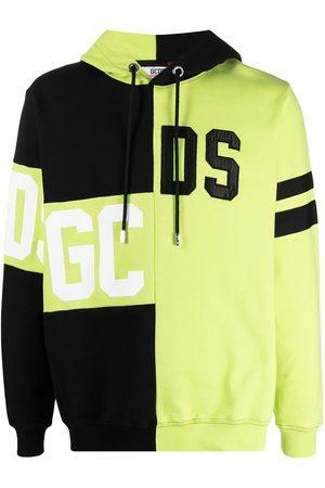 Gcds Herren Sweatshirts - Logo patchwork hoodie