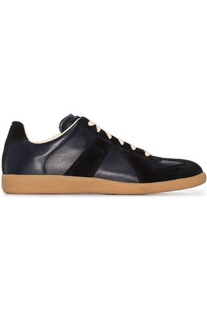Maison Margiela Herren Schnürschuhe - Panelled lace-up sneakers