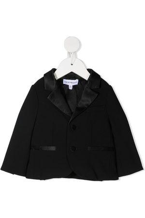 Emporio Armani Single-breasted tuxedo jacket