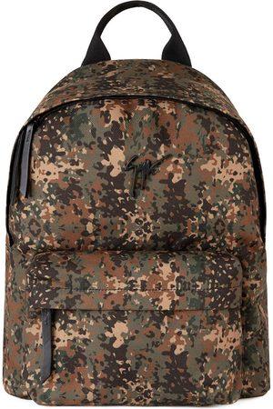 Giuseppe Zanotti Bud camouflage-print backpack