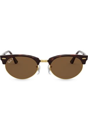 Ray-Ban Sonnenbrillen - Clubmaster oval sunglasses