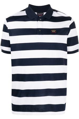 Paul & Shark Striped short sleeve polo shirt