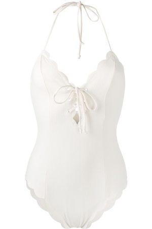 Marysia Damen Badeanzüge - Broadway scalloped swimsuit
