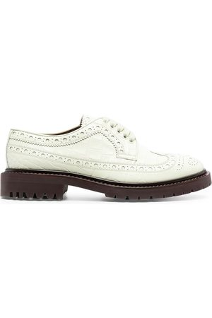 Burberry Herren Schuhe - Perforated leather oxford shoes