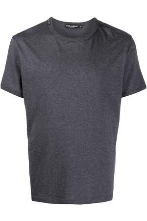 Dolce & Gabbana Herren Kurze Ärmel - Logo-patch short-sleeve T-shirt