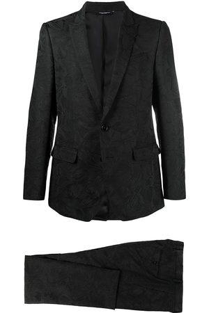 Dolce & Gabbana Herren Anzüge - Floral jacquard martini two-piece suit