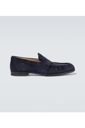 Tod's Loafers aus Veloursleder