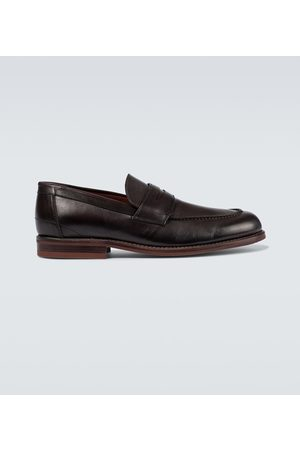 Loro Piana Loafers LP City Walk aus Leder