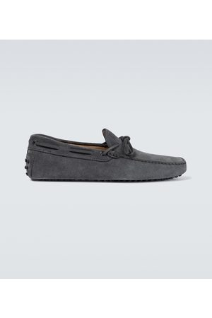 Tod's Loafers City Gommino aus Veloursleder