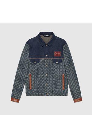 Gucci Herren Jeansjacken - Jacke aus Bio-Denim mit ökologischer Waschung