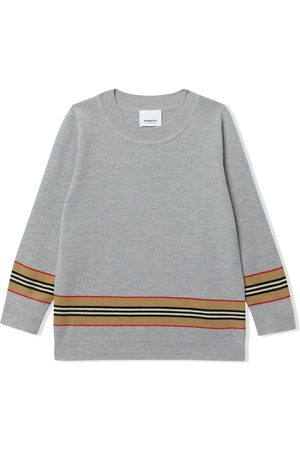Burberry Jungen Pullover - Icon-stripe jumper