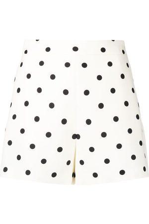 VALENTINO Damen Shorts - Polka dot print short shorts