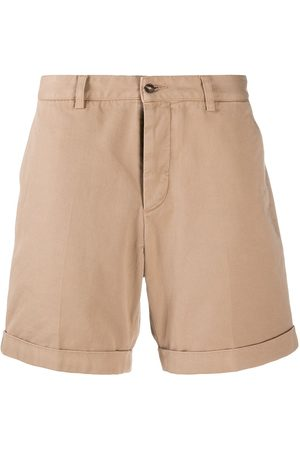 Ami Turn-up hem chino shorts