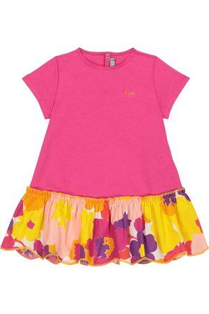 Il gufo Baby Kleid aus Baumwolle