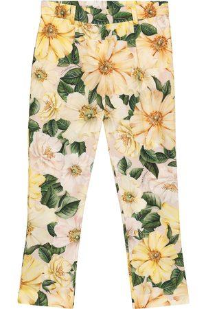 Dolce & Gabbana Bedruckte Hose aus Baumwolle