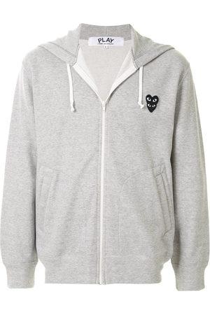 Comme des Garçons Logo patch hoodie