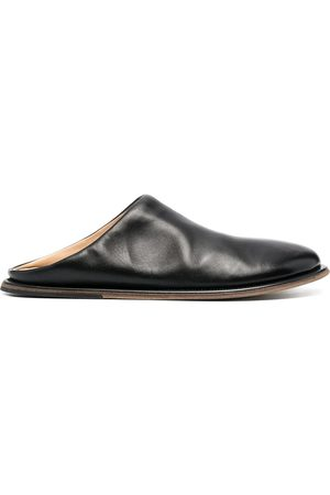 MARSÈLL Herren Clogs & Pantoletten - Round-toe leather mules