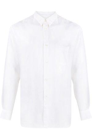 Comme des Garçons Herren Shirts - Silk-effect shirt