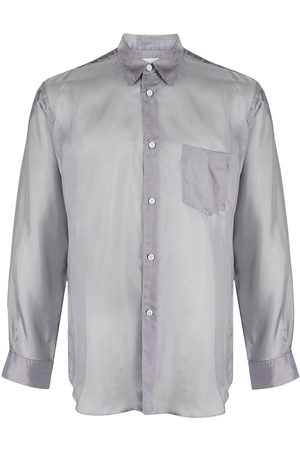 Comme des Garçons Silk-effect shirt