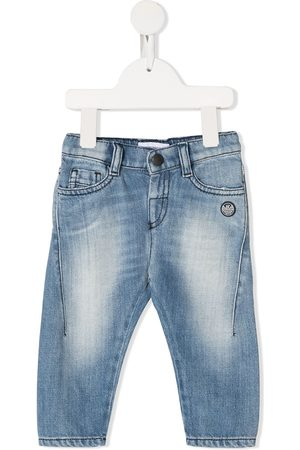 Emporio Armani Baby Jeans - Faded tapered jeans