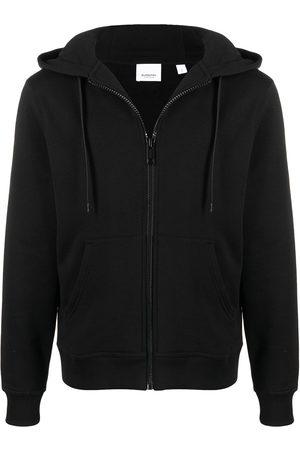 Burberry Herren Sweatshirts - Logo print zip-up hoodie