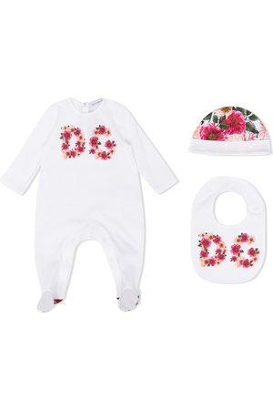 Dolce & Gabbana Outfit Sets - Floral logo pajama set