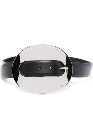 Paco rabanne Damen Gürtel - XL Eight leather belt