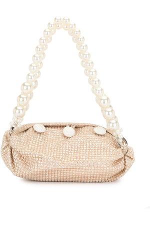 0711 Damen Shopper - Sparkly gold small nino tote