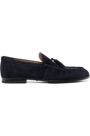 Tod's Tassel almond toe loafers