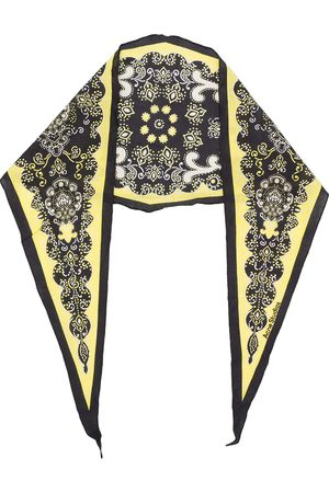 Acne Studios Paisley diamond shape scarf