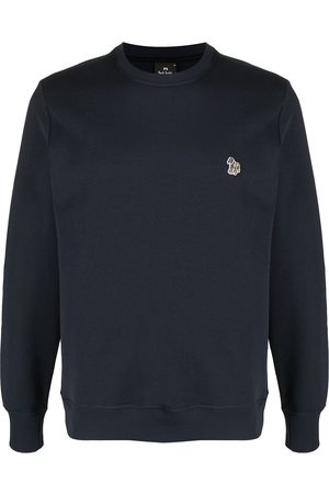 Paul Smith Embroidered zebra crew neck sweatshirt