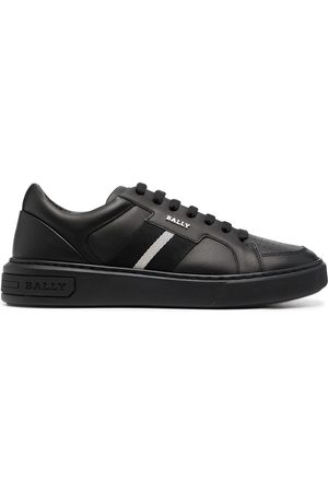 Bally Low top logo-plaque sneakers