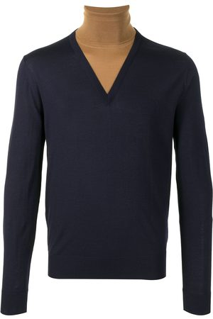 Dolce & Gabbana Two-tone roll-neck jumper