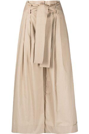 P.a.r.o.s.h. Wide-leg cotton trousers
