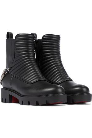 Christian Louboutin Ankle Boots Maddic Max aus Leder