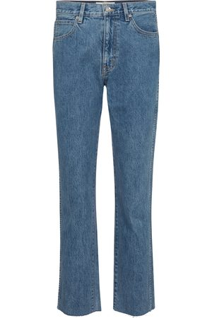 SLVRLAKE High-Rise Straight Jeans Hero