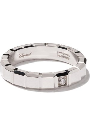 Chopard Damen Ringe - 18kt white gold Ice Cube diamond ring
