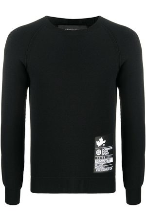 Dsquared2 Herren Lange Ärmel - Fitted long-sleeve jumper