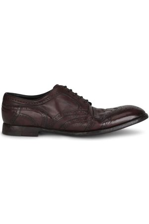 Dolce & Gabbana Herren Halbschuhe - Leather Derby brogues