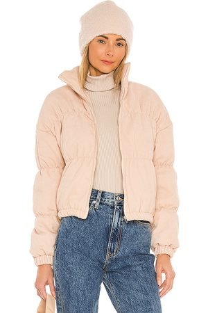 SNDYS Kain Bomber Jacket in - Nude. Size L (also in M, S, XS).