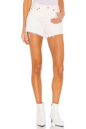 AGOLDE Parker Short in - White. Size 23 (also in 24, 25, 26, 27, 28, 29, 30, 31, 32, 33, 34).