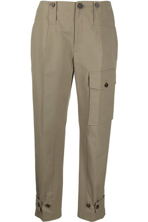 Chloé Straight-leg cargo trousers
