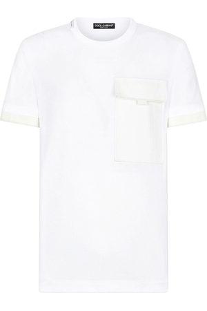 Dolce & Gabbana Herren Kurze Ärmel - Flap-pocket short-sleeve T-shirt