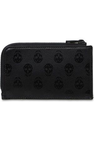 Alexander McQueen Herren Handtaschen - Brieftasche Aus Leder Mit Zipper