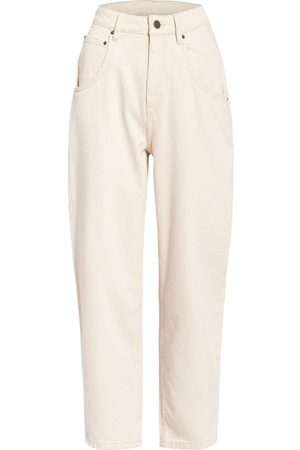 American Vintage Mom Jeans Tineborow weiss