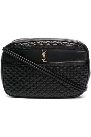 Saint Laurent Victoire quilted crossbody bag