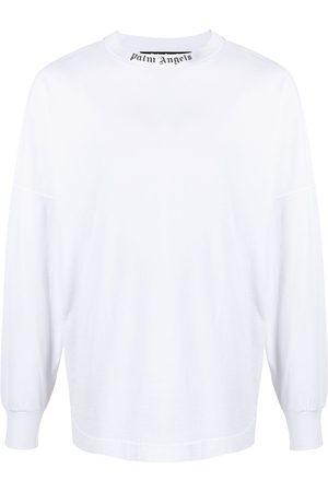 Palm Angels Logo-print long-sleeve T-shirt
