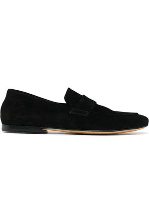Officine creative Suede penny loafers