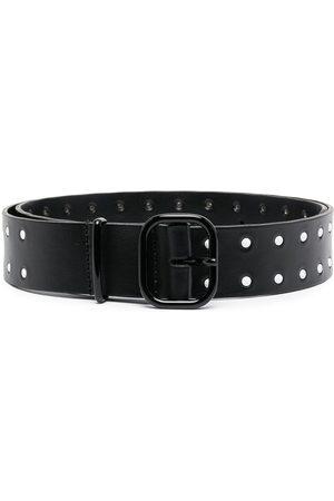 Serafini Damen Gürtel - Cut-out leather belt