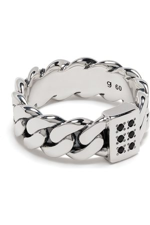 TOM WOOD Ringe - Plated chain-link ring